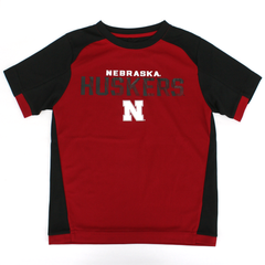 Kids/Youth Nebraska Huskers Circuit Breaker Design Performance Tee