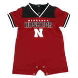 Infant Boys Nebraska Huskers Game Day Jersey Romper