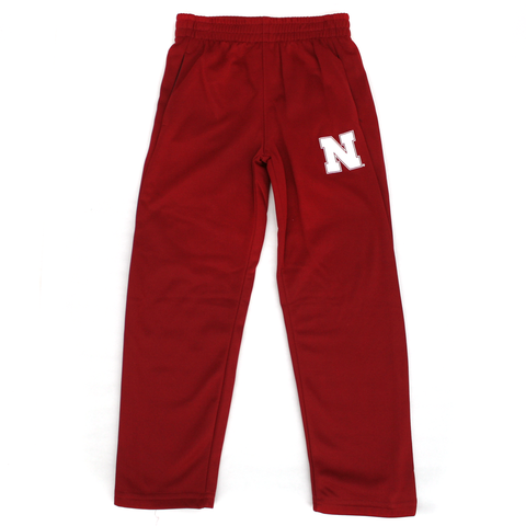 Kids Performance Nebraska Huskers Fleece Set Pants