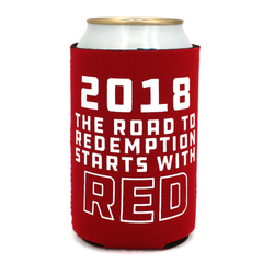 2018 Nebraska Football Schedule Can Koozie