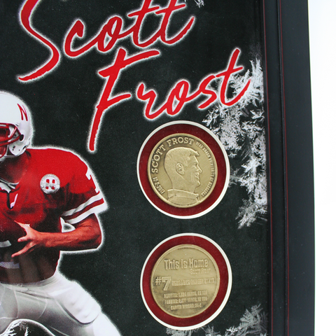 Scott Frost Coin Frame Detail