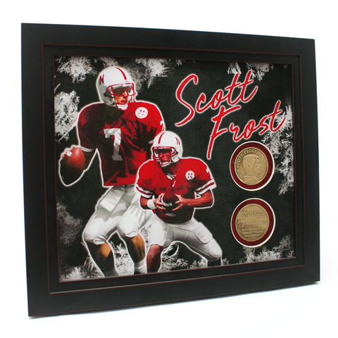 Scott Frost Coin Frame