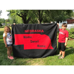 The Ultimate Nebraska Ground Blanket Unfolded