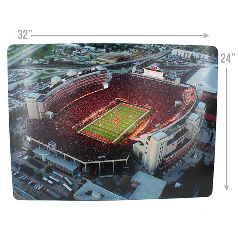 East Memorial Stadium Metal Print Measurements