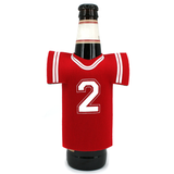 Football Jersey Bottle Koozie Front