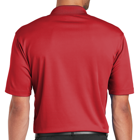 Men's Nebraska Nike Golf Red Polo Back