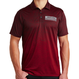 Men's Nebraska Ombré Heather Polo Model