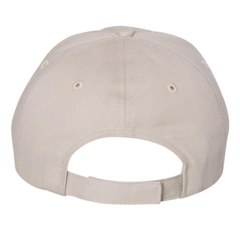 Men's Cotton Unstructured Cap with Nebraska Patch Back