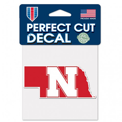 Nebraska N State Shape Decal