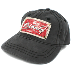 Men's Nebraska Patch Brushed Twill Hat