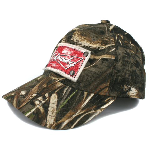Men's Realtree Camo Nebraska Patch Hat