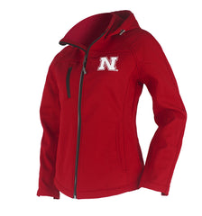 Women's Touchdown Zip Up Jacket - Red - LS