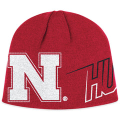 Nebraska Huskers Knit Skully Hat