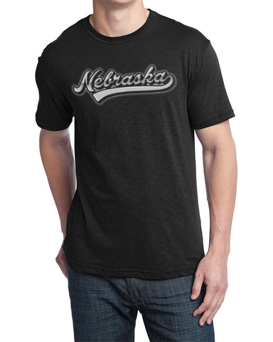Men's Nebraska Chrome - Black - SS