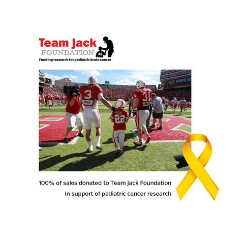 Youth Team Jack: Nebraska Childhood Cancer Awareness Month Tee - SS