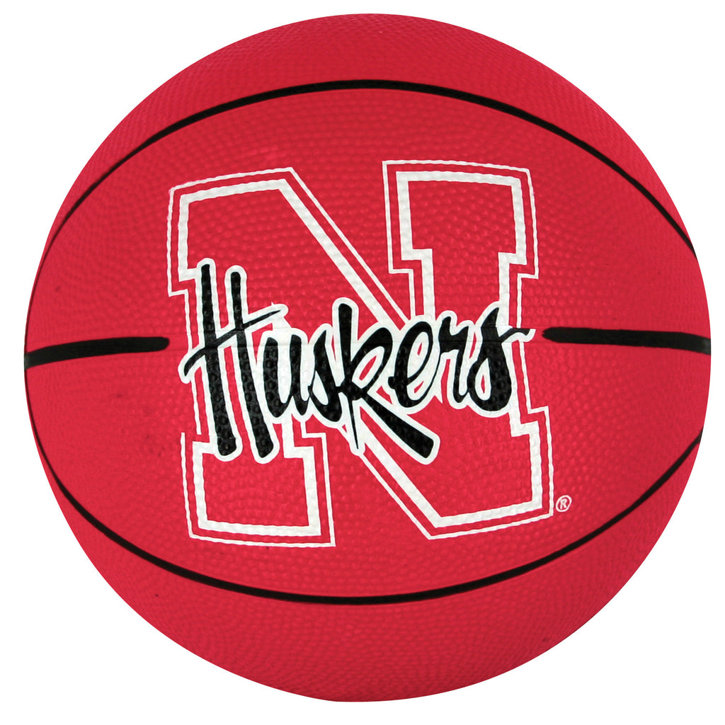 Nebraska Red Zone® | Huskers Mini Size Basketball