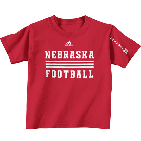2013 Official Huskers Player Tee - red - ss