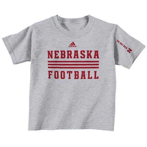 2013 Official Huskers Player Tee - grey - ss