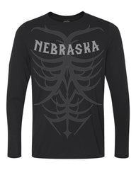 1 LEFT! Men's Tribal Ultra-Performance Tee by RZR - Black - LS