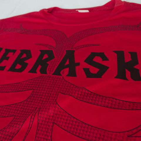 Men's Tribal Ultra-Performance Tee by RZR - Red - LS