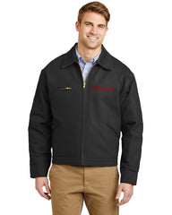 Nebraska Ultra Tough Duck Canvas Jacket by RZR - Black - LS