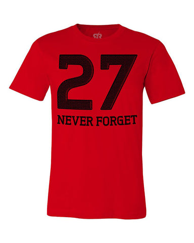Never Forget 27 - SS - Red