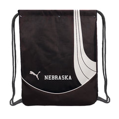 Nebraska Puma Draw String Bag