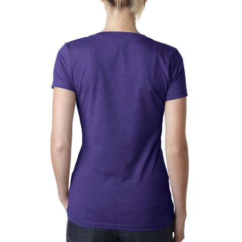 Women's Vote for Wine Purple Tee