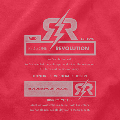 Men's Tribal Ultra-Performance Tee by RZR - Red - SS