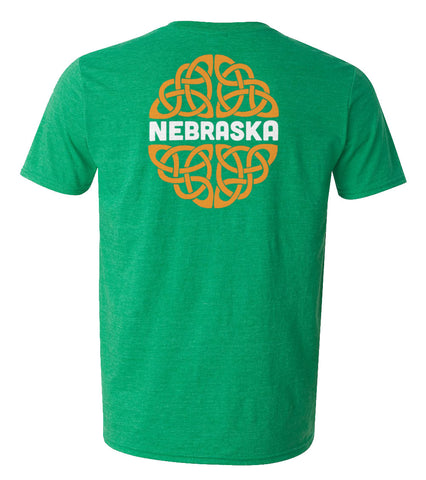 Irish I Was In Nebraska Tee by RZR - Green - SS