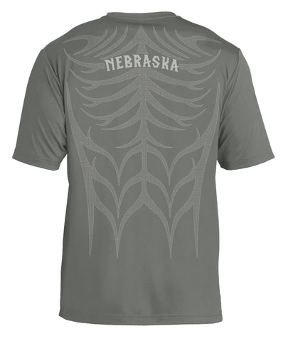 Men's Tribal Ultra-Performance Tee by RZR - Grey - SS