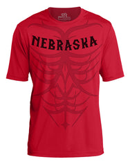 1 LEFT! Men's Tribal Ultra-Performance Tee by RZR - Red - SS