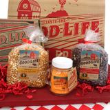 Gourmet Good Life Popcorn 2 Pack-Yellow/Red