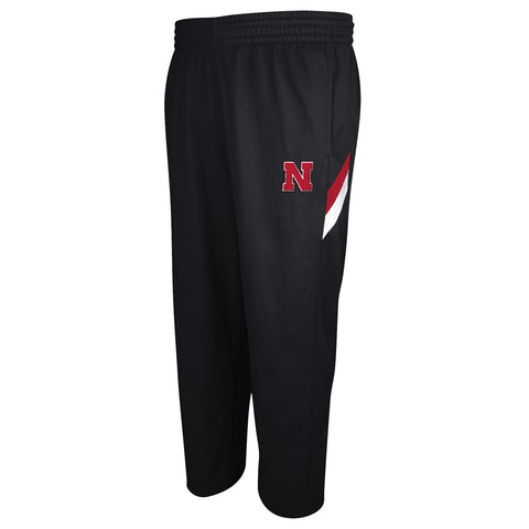 Nebraska Huskers Player Warm-Up Pant by Adidas - Black