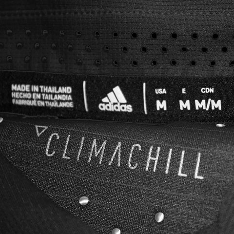 Sideline Climachill Polo by Adidas-SS-Black