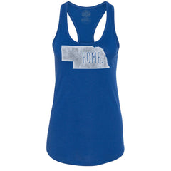 Women's Nebraska Home Tank Top - Blue