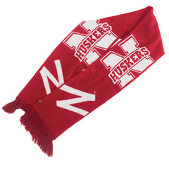 Women Huskers Scarf - Red