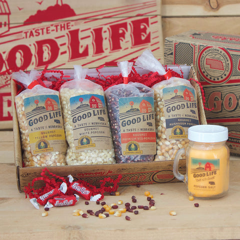 Gourmet Good Life Popcorn Sampler