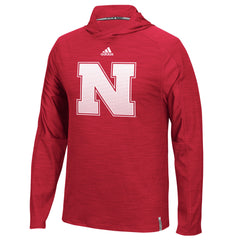 Nebraska Huskers Training Camp Red Adidas Hoodie