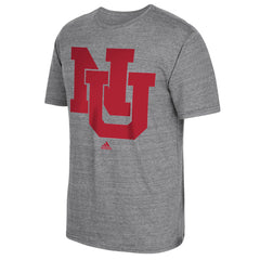 Men's Interlocking NU Tri-Blend Tee by Adidas-SS-Heather Grey