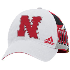 Herbie Husker Sublimated Structured Adjustable Hat by Adidas - White