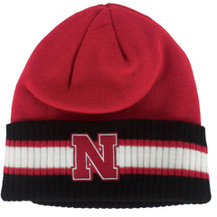 Nebraska Captains Knit by Adidas - Red