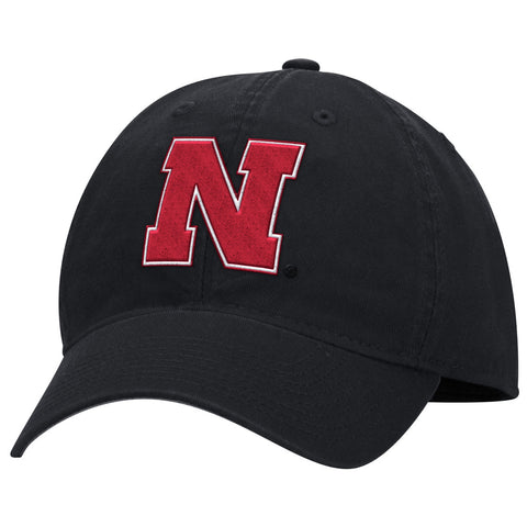 Nebraska Huskers Classic Adjustable Hat by Adidas - Black