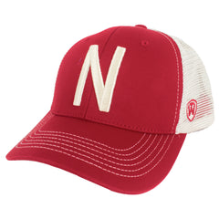Vintage Nebraska Adjustable Hat - Red