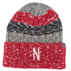 Men's Nebraska Wonderland Knit Hat - Striped