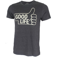 Thumbs Up to the Good Life Tee - SS - Charcoal