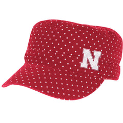 Nebraska Military Cadet Hat by Adidas - Red
