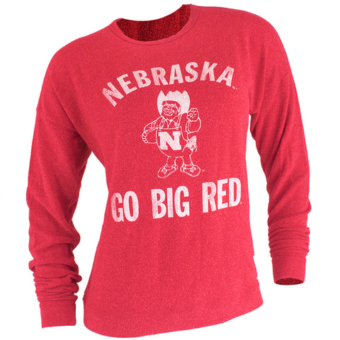 Nebraska Go Big Red Crew - Red - LS