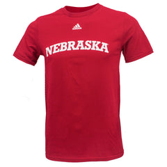 Youth Adidas Nebraska Huskers Go To Tee  by Adidas - SS - Red