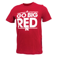Toddler Go Big Red Tee by Adidas - SS - Red